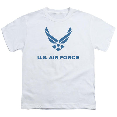 Air Force Distressed Logo Youth T-Shirt (Ages 8-12)