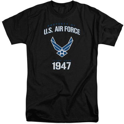 Air Force Property Of Men's Tall Fit T-Shirt