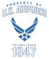 Air Force Property Of Youth T-Shirt (Ages 8-12)