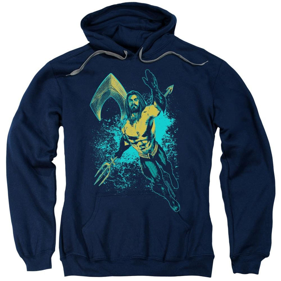 Aquaman Movie - Make a Splash Pullover Hoodie