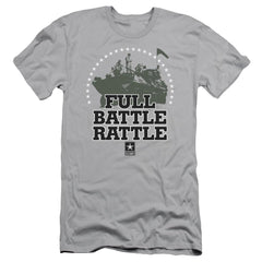 Army - Full Battle Rattle Adult Slim Fit T-Shirt