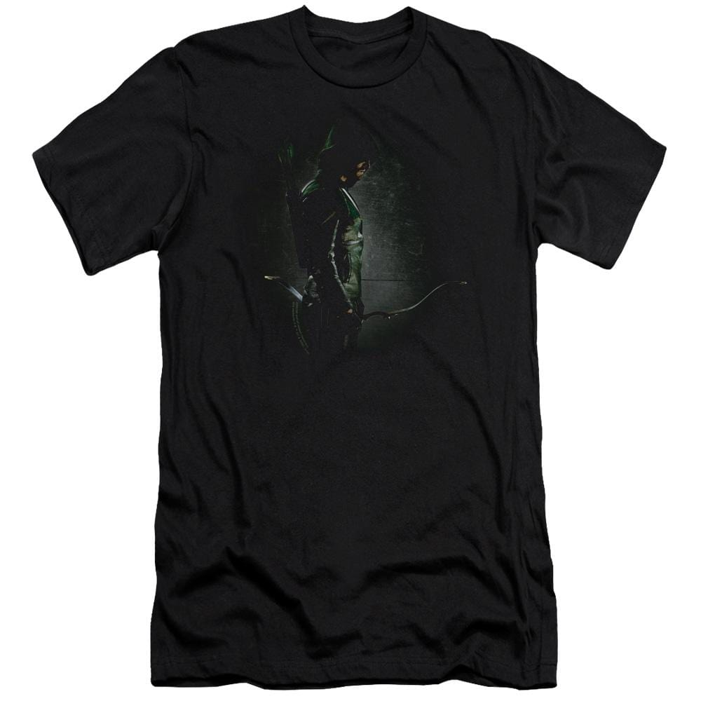 Arrow In The Shadows Premium Adult Slim Fit T-Shirt