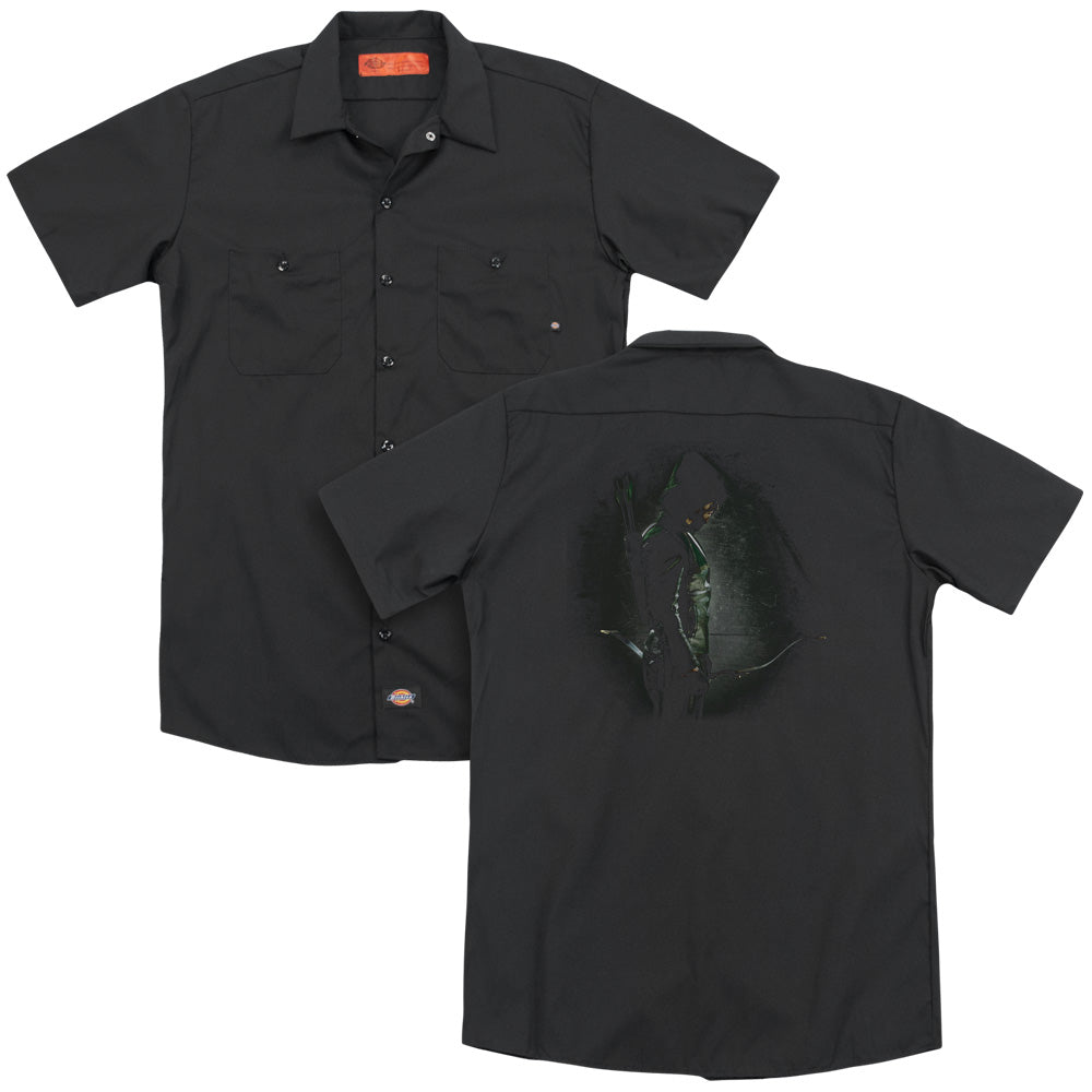 Arrow - In The Shadows Adult Work Shirt