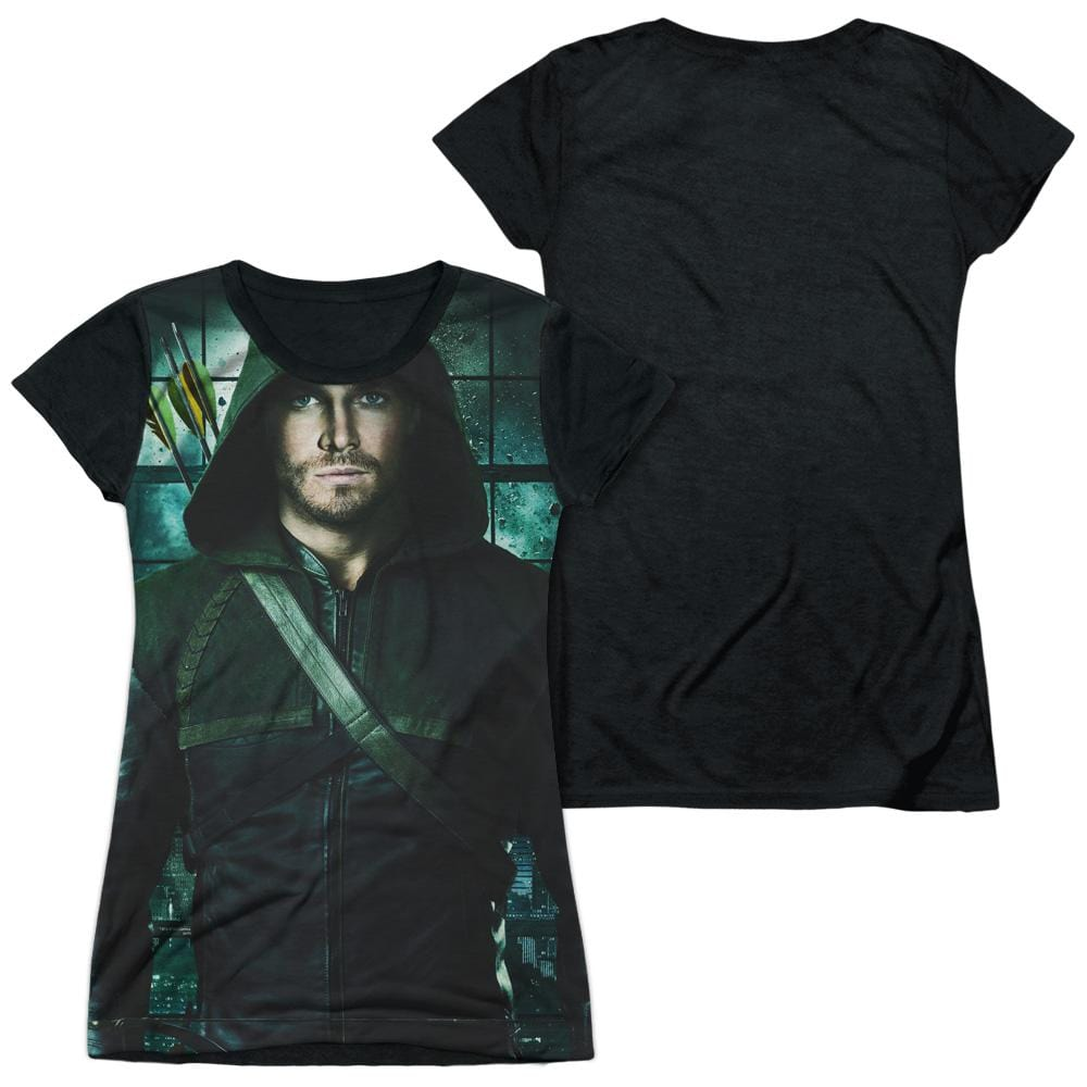 Arrow - Two Sides Junior All Over Print 100% Poly T-Shirt