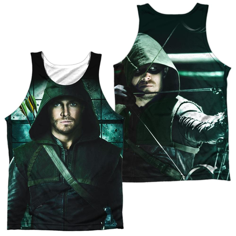Arrow Two Sides Adult Tank Top