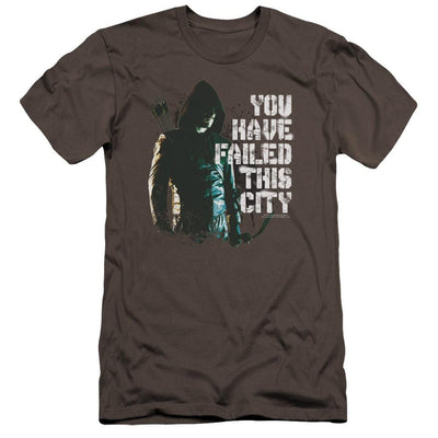 Arrow You Have Failed Men's Premium Slim Fit T-Shirt