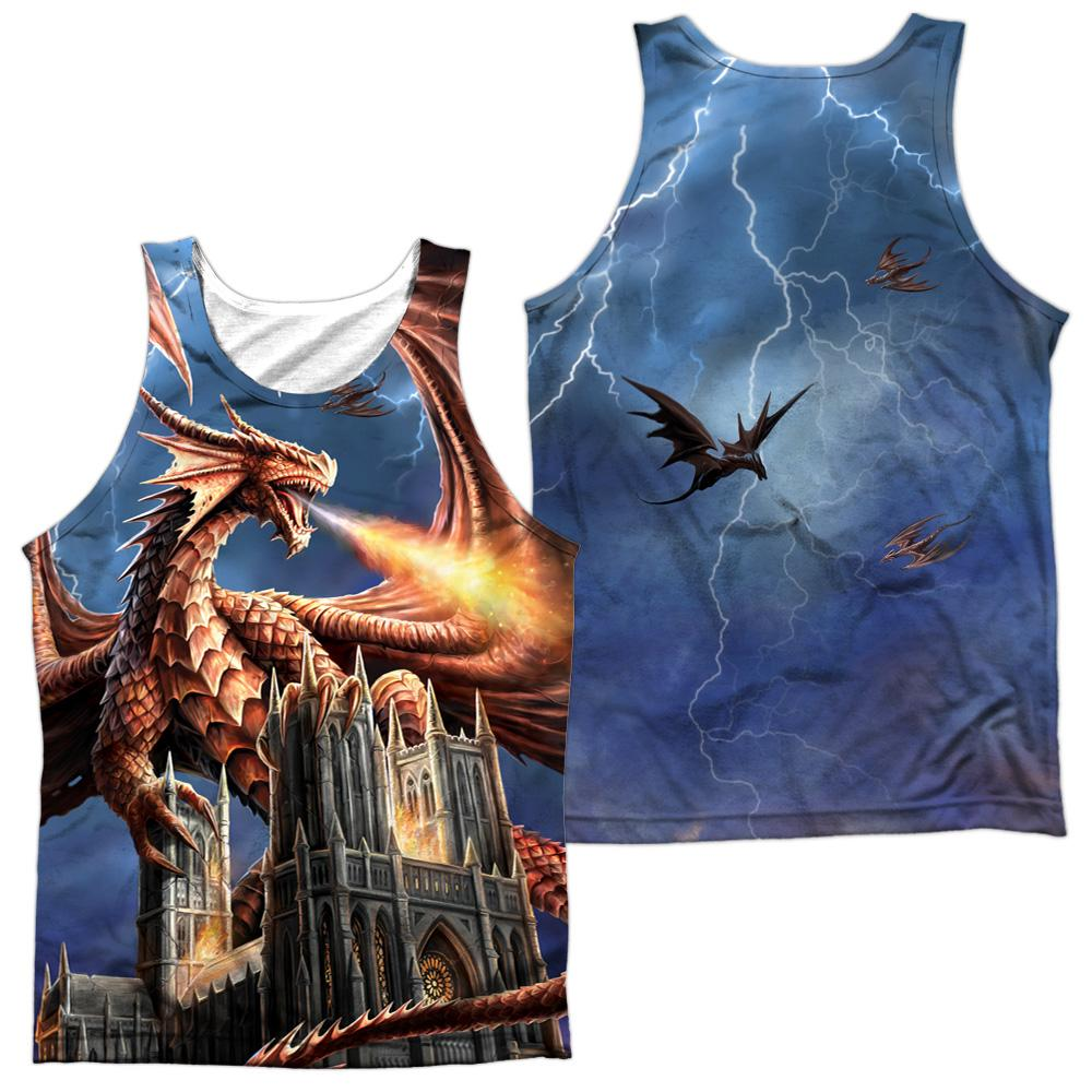 Anne Stokes Dragon's Fury Adult Tank Top