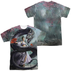 Anne Stokes Dragon Dancer Adult All Over Print 100% Poly T-Shirt