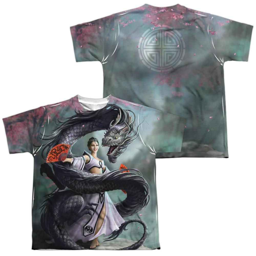 Anne Stokes - Dragon Dancer Youth All Over Print 100% Poly T-Shirt