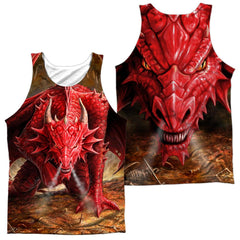 Anne Stokes Dragon's Lair Adult Tank Top