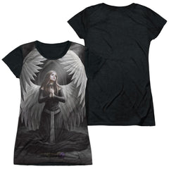 Anne Stokes - Prayer For The Fallen Junior All Over Print 100% Poly T-Shirt