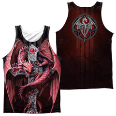 Anne Stokes Gothic Guardian Adult Tank Top