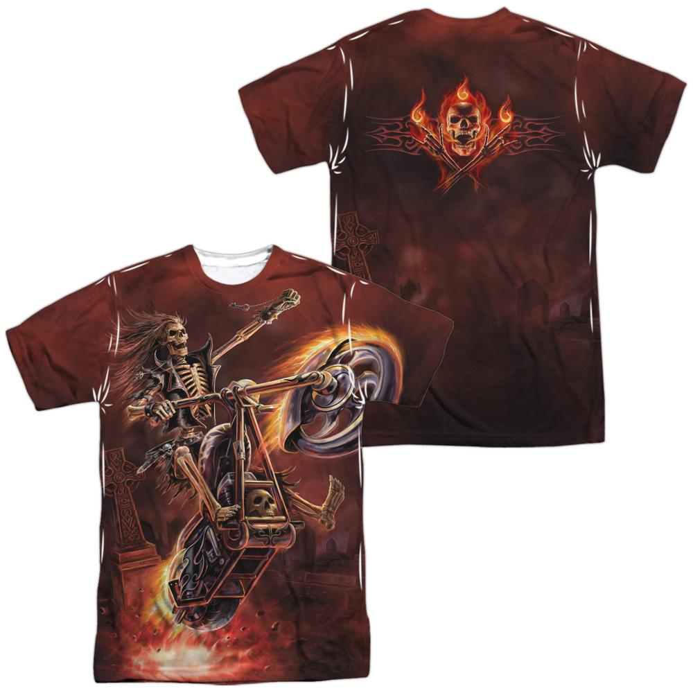 Anne Stokes Hellrider Adult All Over Print 100% Poly T-Shirt