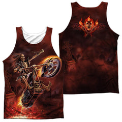 Anne Stokes Hellrider Adult Tank Top