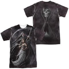 Anne Stokes Summon The Reaper Adult All Over Print 100% Poly T-Shirt