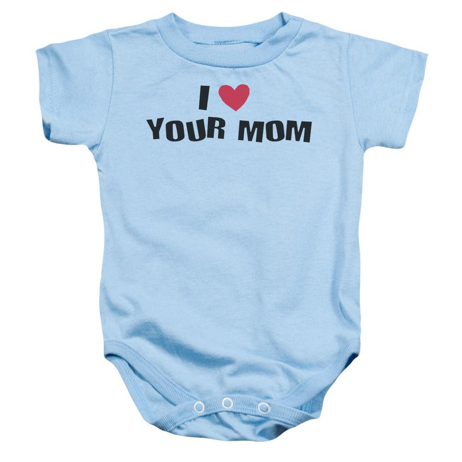 Funny I Love Your Mom  - Baby Bodysuit