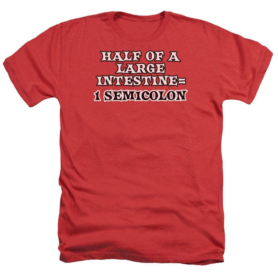 1 Semicolon Adult Regular Fit Heather T-Shirt - Sons of Gotham