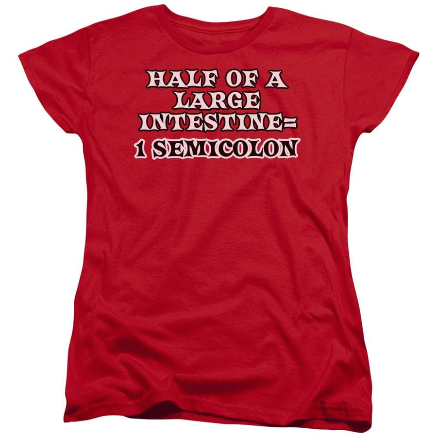 1 Semicolon Women's T-Shirt - Sons of Gotham