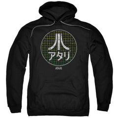Atari - Japanese Grid Adult Pull-Over Hoodie