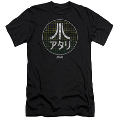 Atari Japanese Grid Adult Slim Fit T-Shirt
