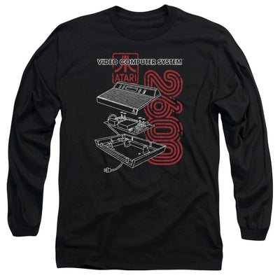 Atari 2600 Men's Long Sleeve T-Shirt