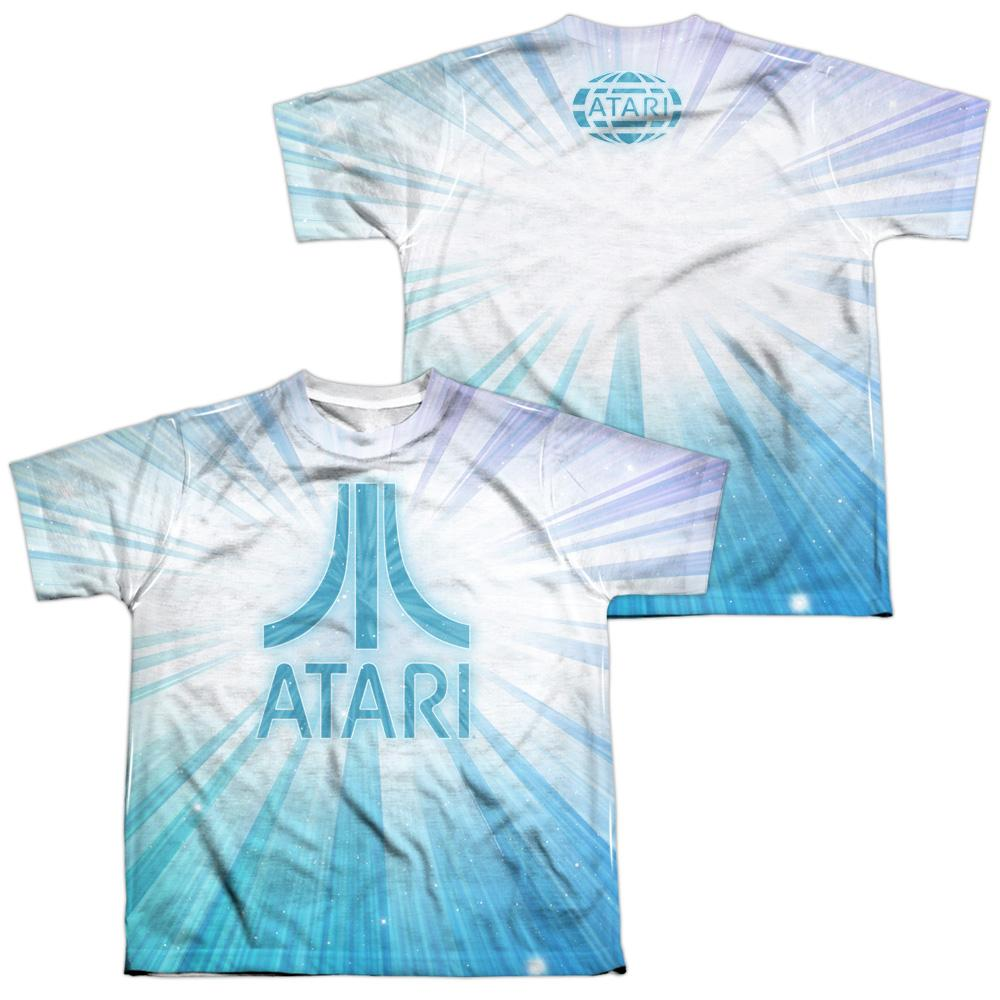 Atari - Burst Logo Youth All Over Print 100% Poly T-Shirt