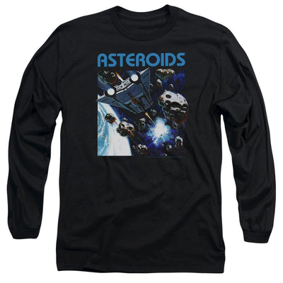 Atari 2600 Asteroids Men's Long Sleeve T-Shirt