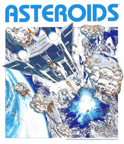 Atari 2600 Asteroids Kid's T-Shirt (Ages 4-7)
