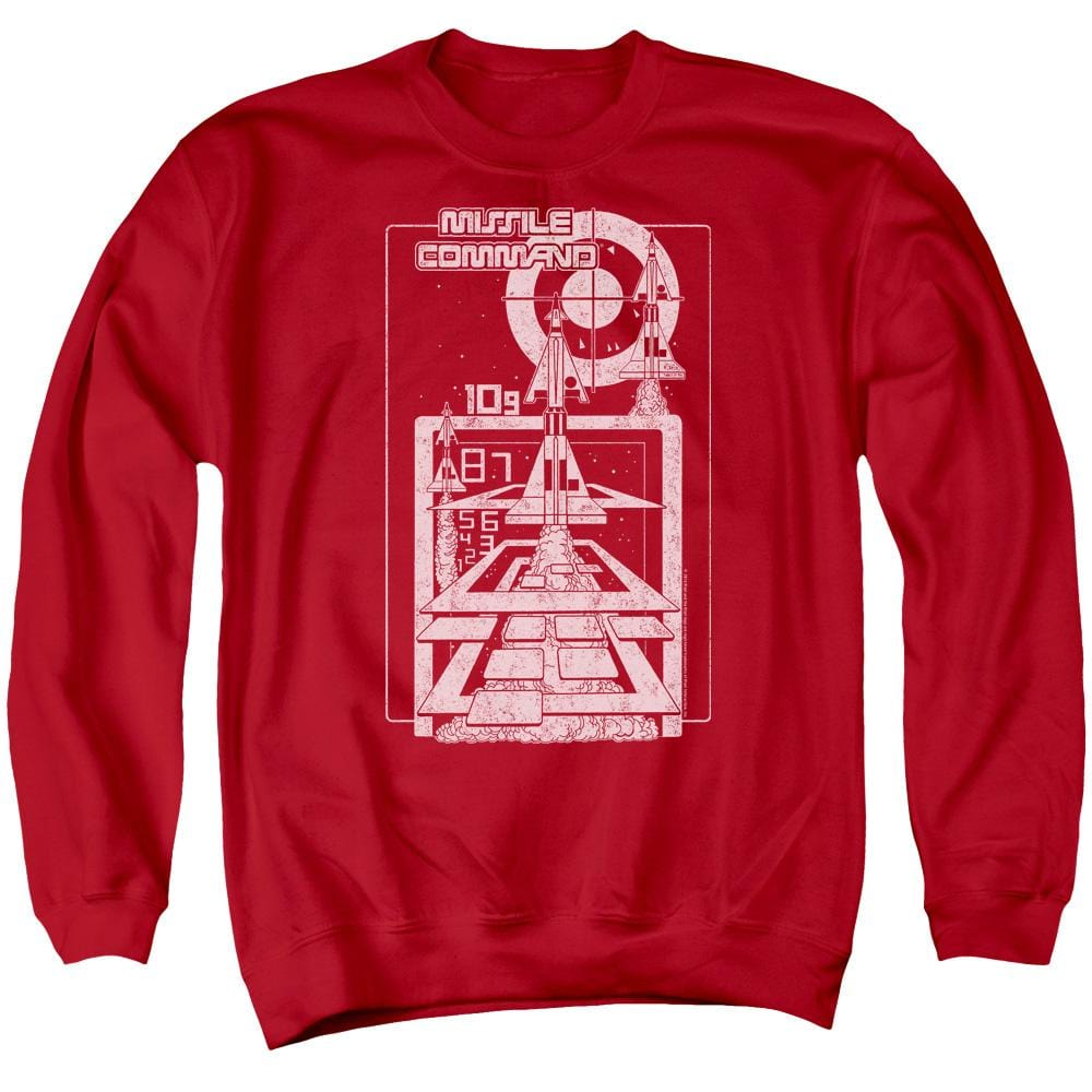 Atari - Lift Off Adult Crewneck Sweatshirt