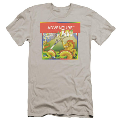 Atari Adventure Box Art Men's Premium Slim Fit T-Shirt