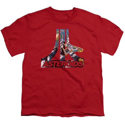 Atari Asteroids Atari Youth T-Shirt (Ages 8-12)