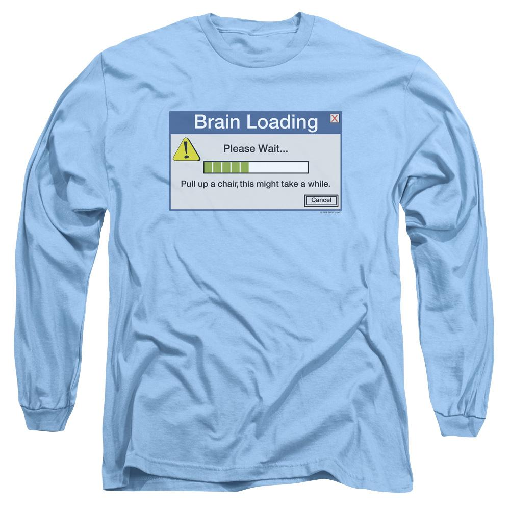 Brain Loading Adult Long Sleeve T-Shirt