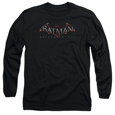 Batman - Arkham  Logo Men's Long Sleeve T-Shirt
