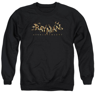 Batman - Arkham Ak Flame Logo Men's Crewneck Sweatshirt