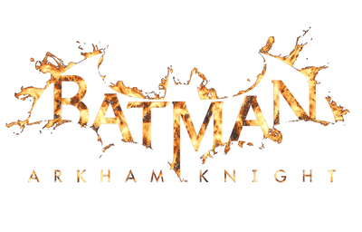 Batman - Arkham Ak Flame Logo Men's Heather T-Shirt