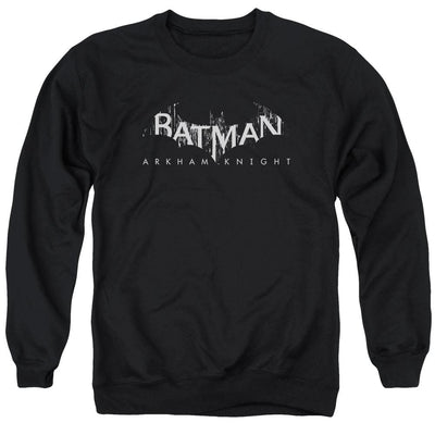 Batman - Arkham Ak Splinter Logo Men's Crewneck Sweatshirt