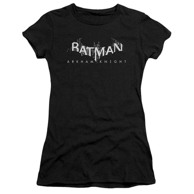 Batman - Arkham Ak Splinter Logo Juniors T-Shirt