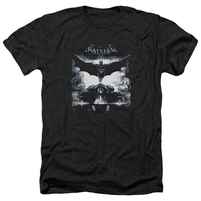 Batman - Arkham Forward Force Men's Heather T-Shirt