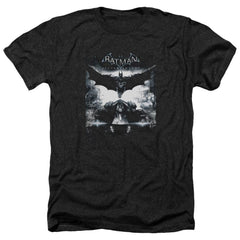 Batman Arkham Knight - Forward Force Adult Regular Fit Heather T-Shirt