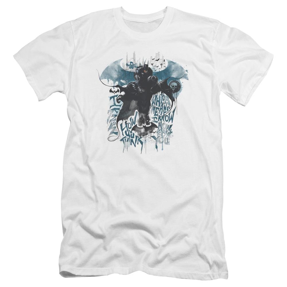 Batman Arkham Knight I Know Premium Adult Slim Fit T-Shirt