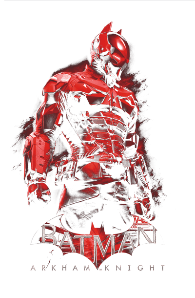 Batman - Arkham Knight Men's Slim Fit T-Shirt