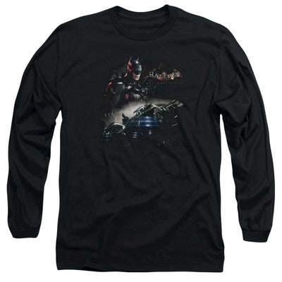Batman - Arkham Knight Rider Men's Long Sleeve T-Shirt