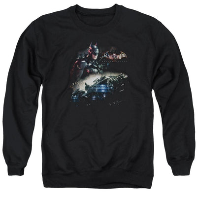 Batman - Arkham Knight Rider Men's Crewneck Sweatshirt