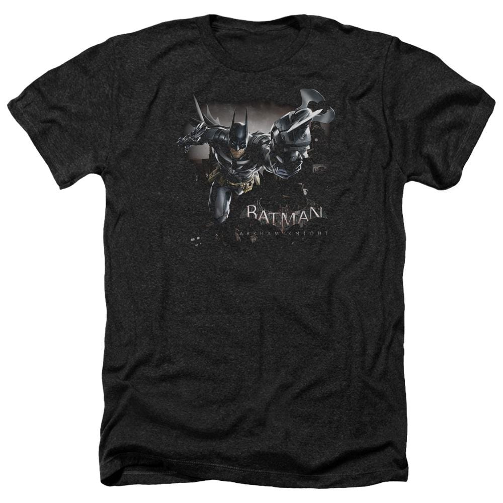 Batman Arkham Knight - Grapple Adult Regular Fit Heather T-Shirt