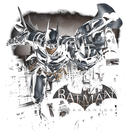 Batman - Arkham Grapple Juniors V-Neck T-Shirt