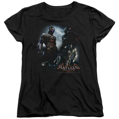 Batman - Arkham Face Off Women's T-Shirt