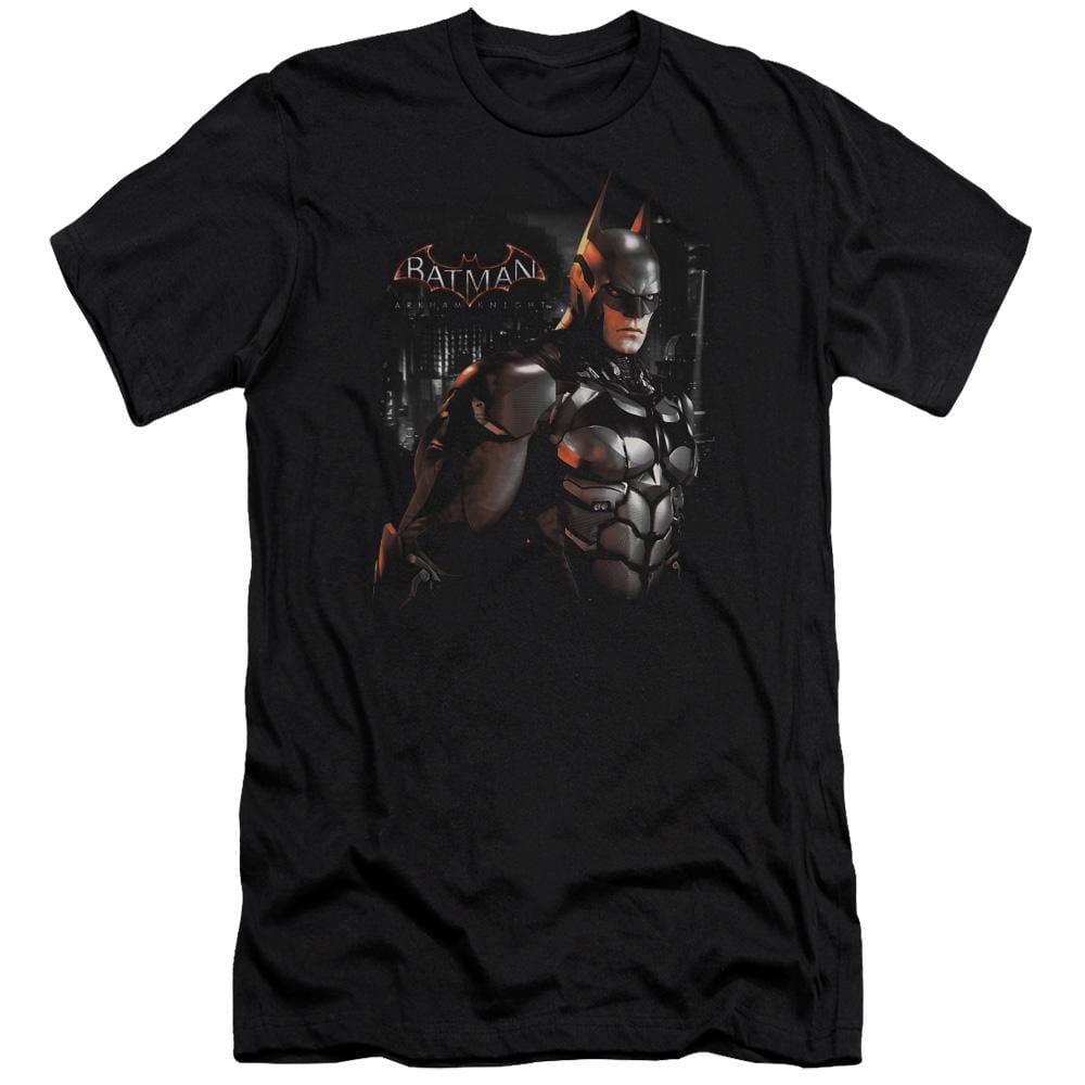 Batman Arkham Knight Dark Knight Premium Adult Slim Fit T-Shirt
