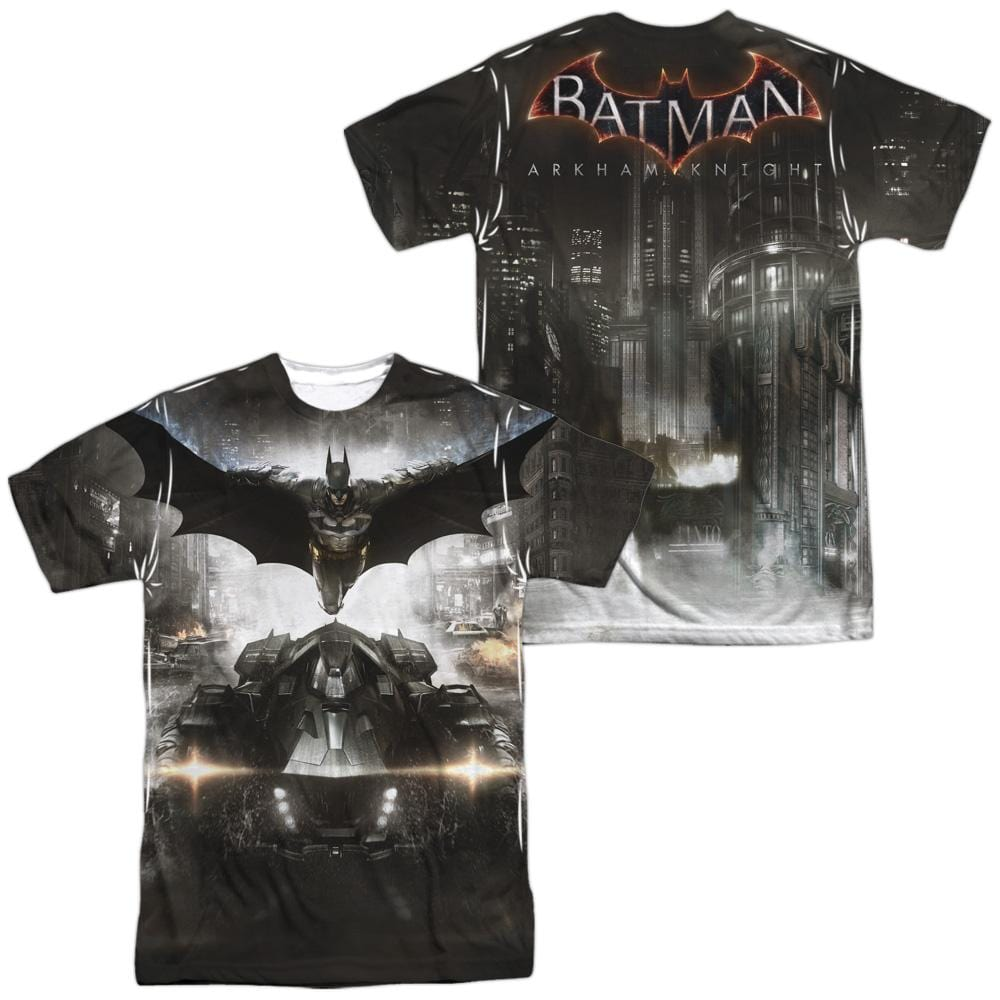 Batman Arkham Knight Poster Adult All Over Print 100% Poly T-Shirt