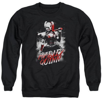 Batman - Arkham Quinn City Men's Crewneck Sweatshirt
