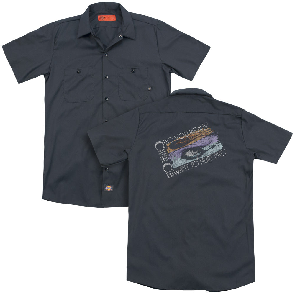 Culture Club - Hurt Me Adult Work Shirt